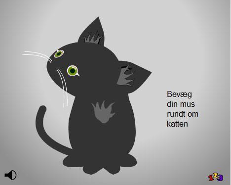 Opmærksom kat