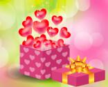 Romantiske fødselsdagskort