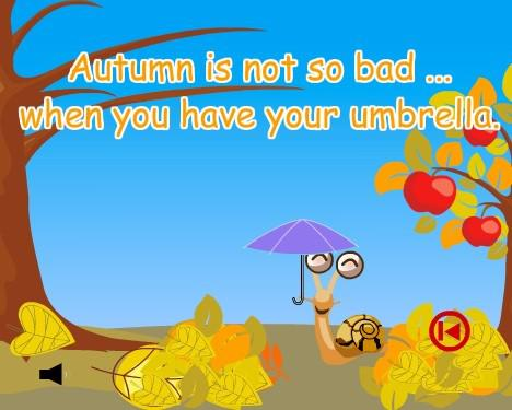 Autumn weather