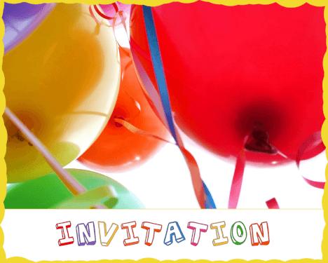 Farverig fest