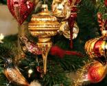 Strålende juletræ