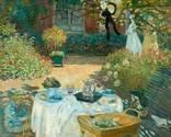 C. Monet, Frokost