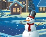 Glad snemand