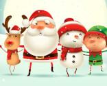 Julekort til børn