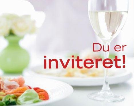 Du er inviteret